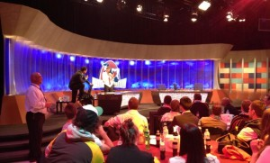 Footy Show - Gary & Sam audience chat April 2013 - 2