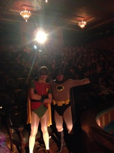 Jez & Ned as Batman & Robin 2 - Sept 30 2013
