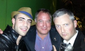 Fat Tony Wrap Party - Jez with Lester Ellis Jnr and Stephen Curry