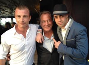 Jez with Richard Cawthorne & Lester Ellis Jnr