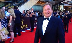 AACTA Awards Jan 2014 - Jez on Red Carpet