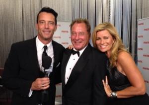 AACTA Awards Jan 2014 - Jez with Mike Hammond & Deborah Hutton