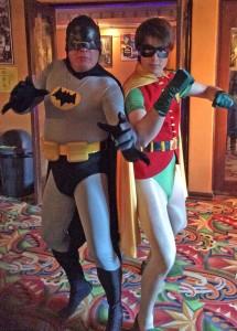 Jez & Ned as Batman & Robin  3 - Dec 30 2013