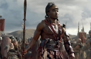 Blessing Mokgohloa in Spartacus