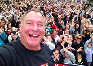X Factor 2014 - Jez with crowd