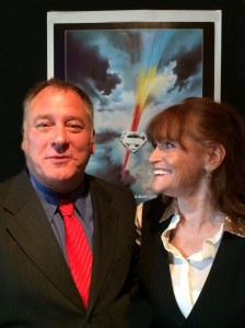 Superman - Jez with Margot Kidder - Oct 2014-2