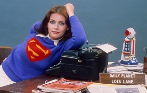 Superman - Margot Kidder in Lois Lane publicity still